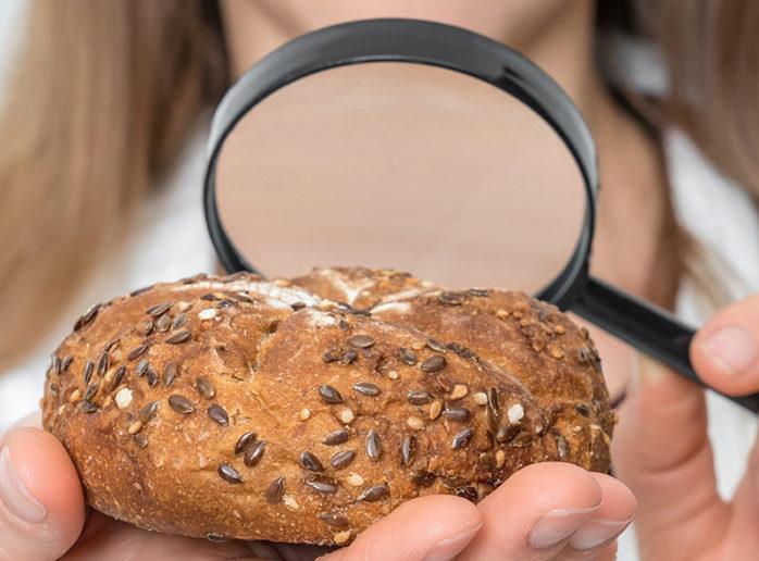 Bread microscope