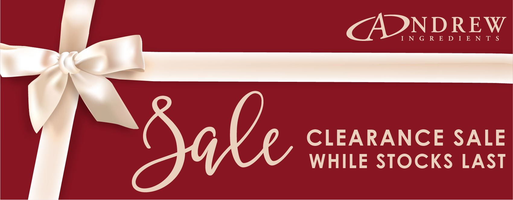 Clearance Stock - Grab a Bargain!