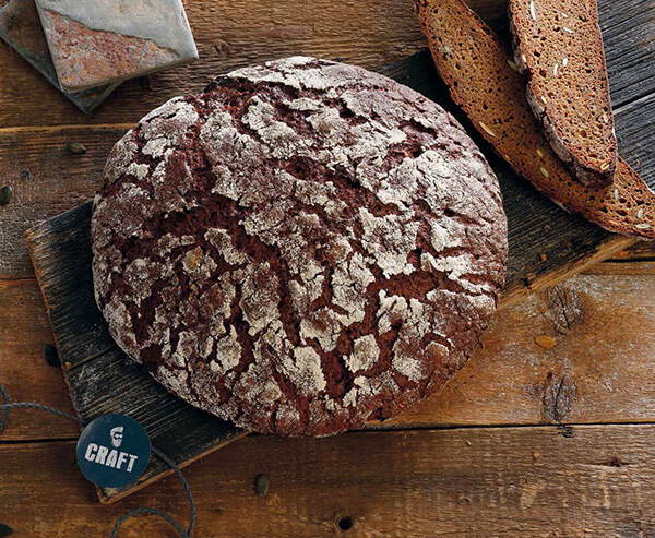 Artisan Malt Bread using IREKS Craft Malt