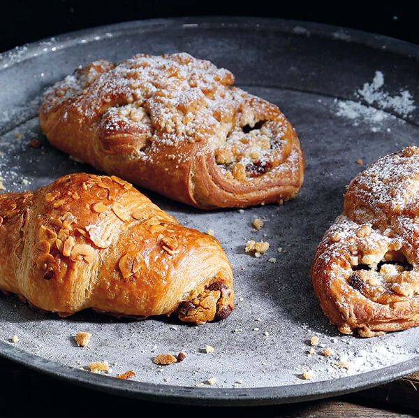 Artisan Croissants using IREKS Craft Malt