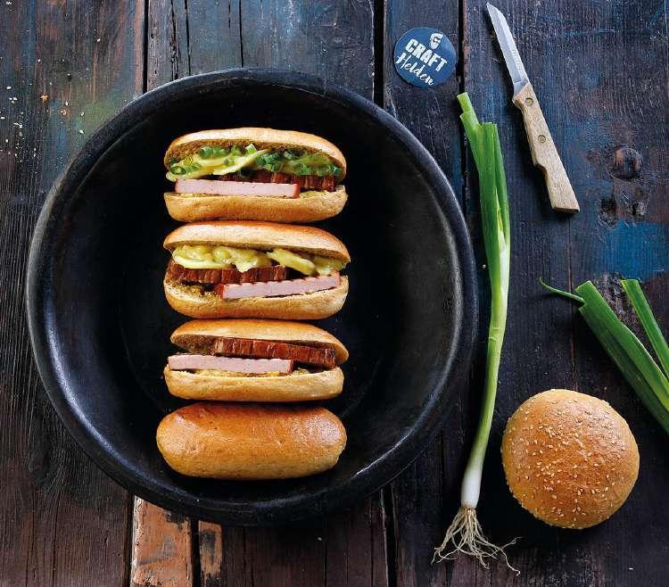 Craft Malz Hot Dog Buns Mit Craft Malz Und Ireks Soft Roll 7