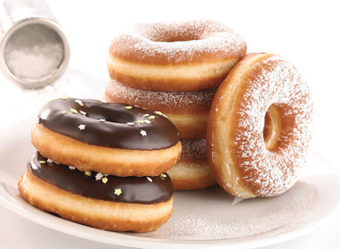 IREKS Cake Donut Doughnut Mix Make Up Instructions