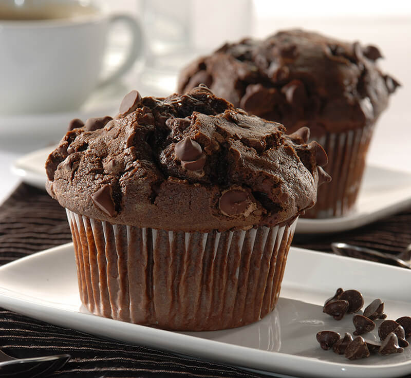 Macphie Mississippi Chocolate Muffin Cake Mix Make Up Instructions