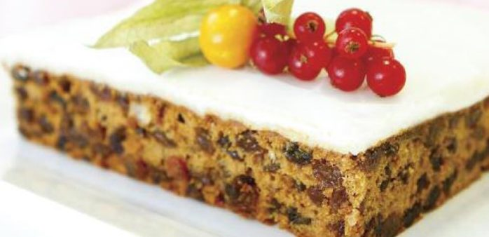 Christmas Cake using IREKS Farmhouse Cake Mix