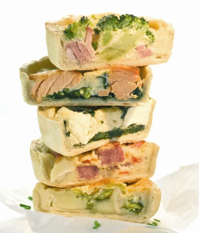 Gluten Free Quiche Using IREKS Singlupan