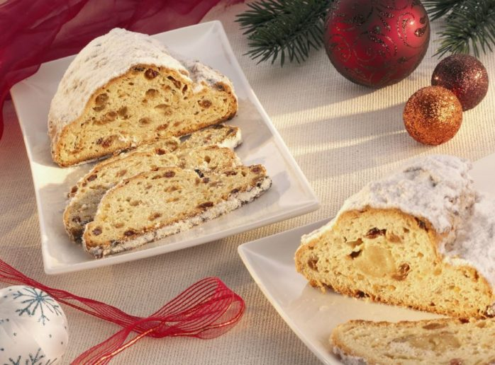 Stollen using IREKS Voltex Bread Improver